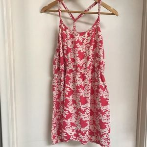 Charlotte Russe floral strapy dress
